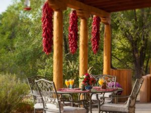 casa escondida outdoor dining room