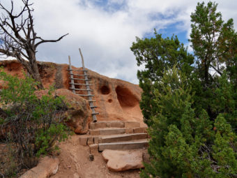 Bandelier National Monument in Northern New Mexico