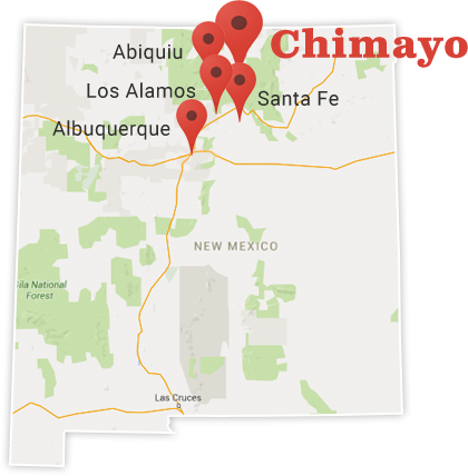 Chimayo Map